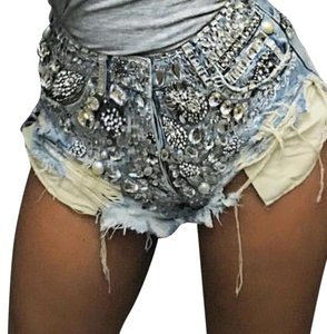Cut Off Shorts Light Denim , Dark Denim, Black