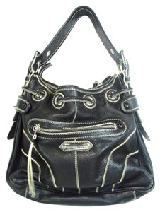 Isabella Fiore Medium Silver Hardware Shoulder Bag