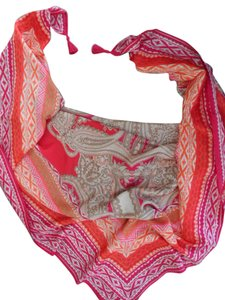 Chico's CHICO'S EXOTIC SCROLLS SQUARE SCARF NEW WITH $59 TAG