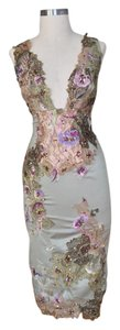 Mandalay Appliques Lace Mermaid Sequin Dress