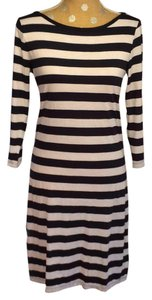 Three Dots short dress ... Striped on Tradesy