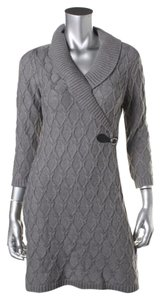 Calvin Klein Knit Shawl Sweater Dress