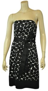 Nine West Dotted Strapless Dress