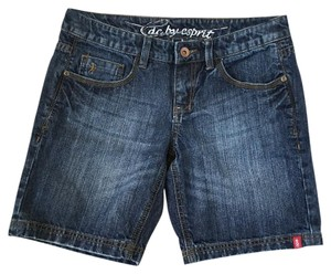 Esprit Edc Denim Mini/Short Shorts Blue, Denim