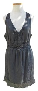 Free People short dress Lace Trim on Tradesy