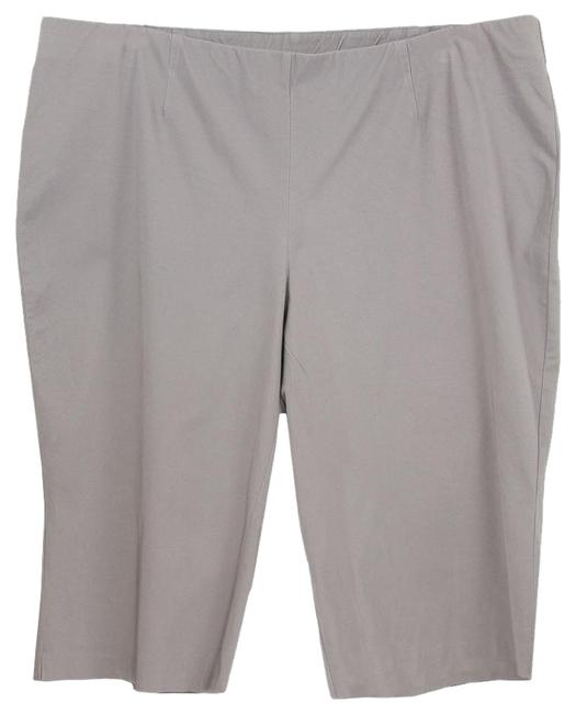 INC International Concepts 24w Pull On Elastic Waist Pants Taupe Capris - 62% Off Retail good