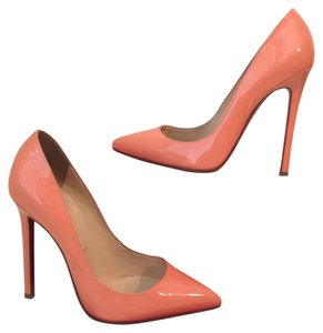 Christian Louboutin Peach Pumps