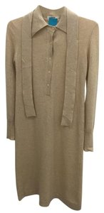 Other short dress Beige Cashmere Sweater on Tradesy
