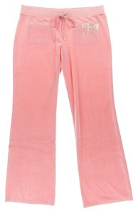 Juicy Couture Juicy Couture Pink Velour Pants
