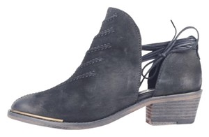 Free People Boho Eclectic Western Black Boots