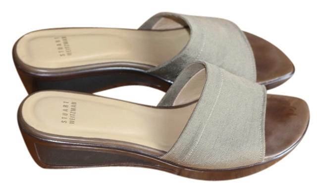 Item - Tan Amazing Detail In Excellent Condition Mules/Slides Size US 9.5 Regular (M, B)