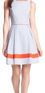 Jessica Simpson short dress Orange, White on Tradesy