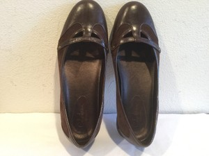 Cole Haan Suede And Leather Brown Flats
