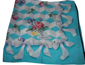 Tiffany & Co. Tiffany Blue Silk Scarf