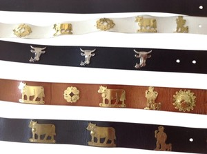 Other 5 Swiss belts handmade in Switzerland