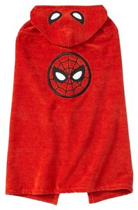 babyGap Baby Gap Junk Food Superhero Hooded Towel: Spiderman