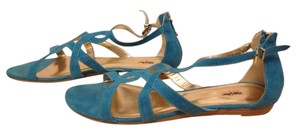 Mossimo Supply Co. Flat Sandal Turquoise Sandals
