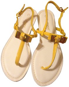 pinky yellow Sandals