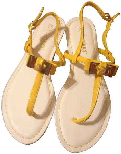 Preload https://item2.tradesy.com/images/yellow-sandals-size-us-75-181926-0-0.jpg?width=440&height=440