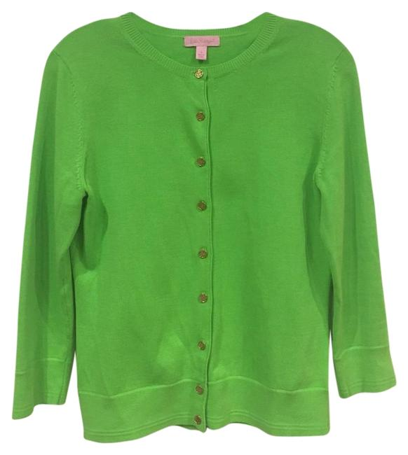 Item - Green Paley Cardigan Size 6 (S)