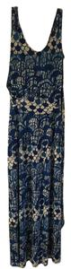 Blue and white Maxi Dress by Tracy Reese