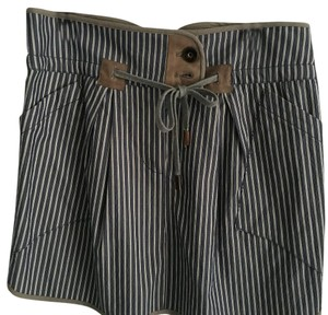 Brunello Cucinelli Mini Skirt Blue stripe