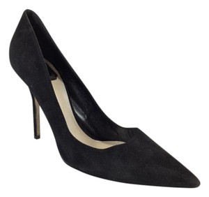 Dior Black Suede Pumps
