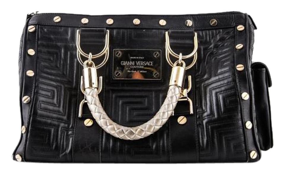 f1f09f79276b Versace Gianni Snap Out Of It   Black Shoulder Bag - Tradesy