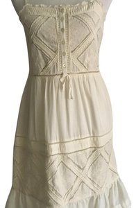 Juicy Couture short dress Cream on Tradesy