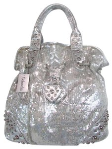 Schandra Exclusive Tote in Silver