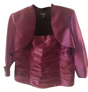 dressbarn Formal Separates Bolero Top Magenta