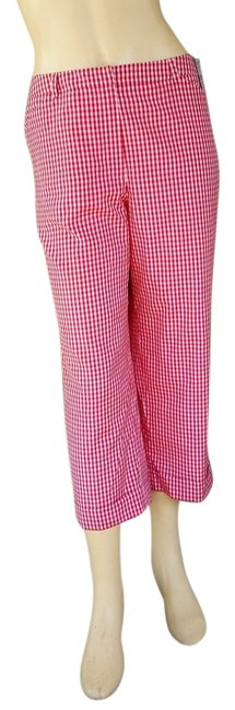 Preload https://item2.tradesy.com/images/talbots-red-gingham-silk-blend-cropped-pants-8p-capris-size-petite-8-m-1819366-0-0.jpg?width=400&height=650