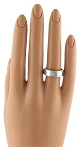 Cartier Cartier Love 18k White Gold 6mm Band Ring Eu 60-us