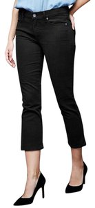Gap 1969 Cropped Flare Capri/Cropped Denim-Dark Rinse