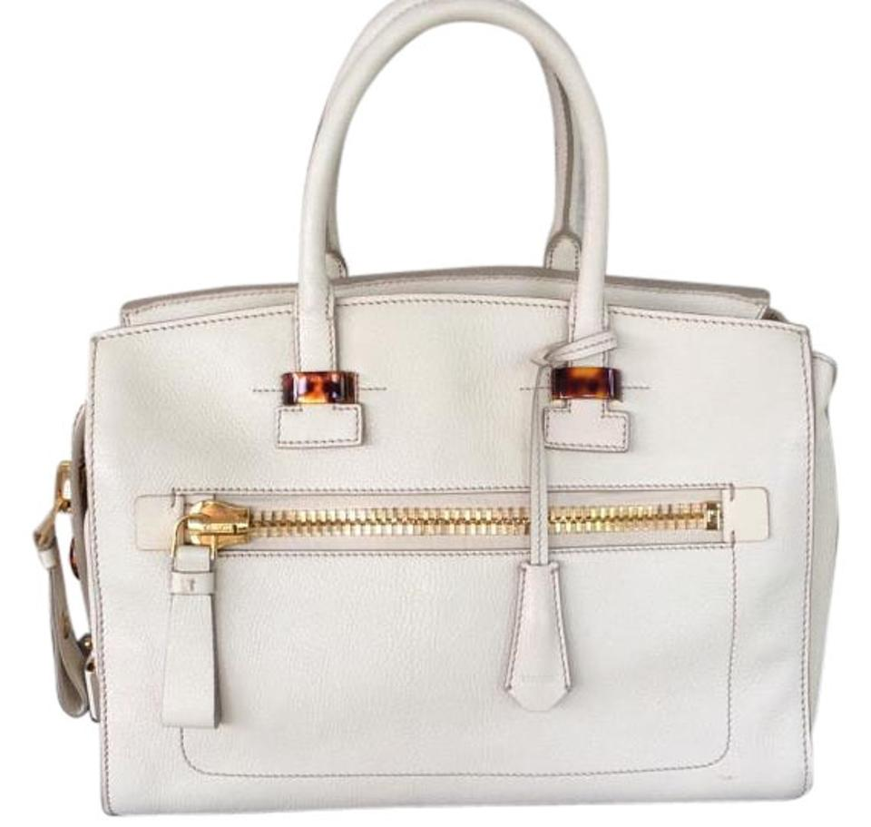 Tom Ford Gucci Charlotte Icon Tote In Ivory