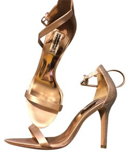 Badgley Mischka champagne Sandals