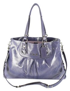 Coach Large Leather Shoulder Bag