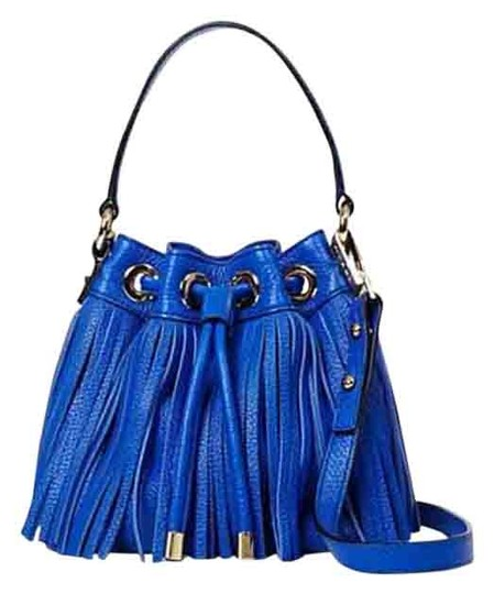 Preload https://img-static.tradesy.com/item/18196660/milly-essex-fringe-small-drawstring-msrp-cobalt-blue-leather-cross-body-bag-0-1-540-540.jpg