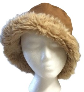 Arden B. Arden B Leather & Faux Fur Hat