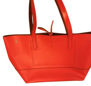 J.Crew Tote in Orange/red