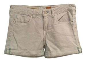 Anthropologie Jean Pilcro Cuffed Shorts Light Blue