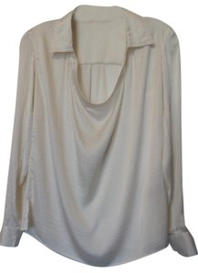 Vince Camuto Silky Collar Tunic