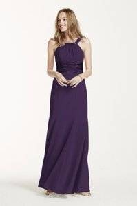 David's Bridal Lapis (deep Purple) David's Bridal Dress