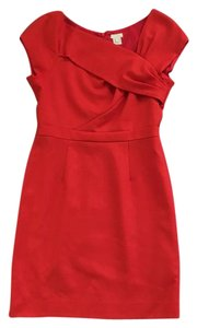 J.Crew Smooth Wool Fitted Bodice Dress