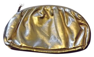 Donna Karan New Make-up Pouch Gold Travel Bag