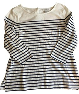 Liz Claiborne Striped Bold Stripe Casual Top