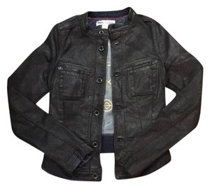 Diesel Black Womens Jean Jacket