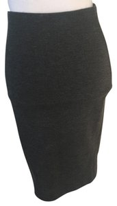 Tracy Reese Knit Skirt gray