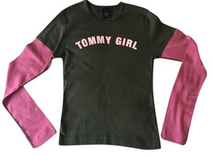 Tommy Hilfiger Cotton Tommy Girl T Shirt