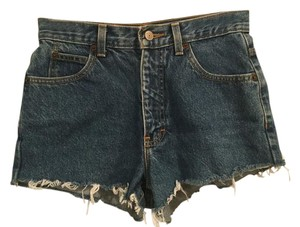 Calvin Klein Vintage High Waisted Cut Off Shorts